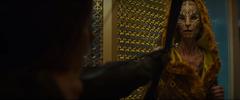 Katniss apuntando a Tigris