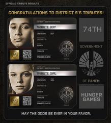 District 9 Tributes