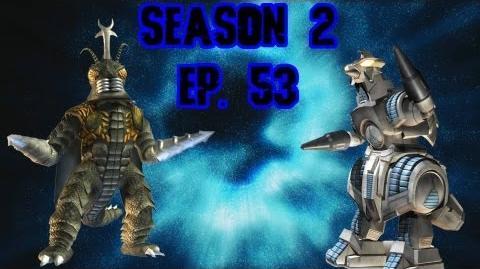 Godzilla Fantasy Battles! Ep. 53 Megalon vs. Moguera