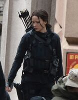 Jen on set 2