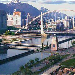 Большой канал и Вантовый мост