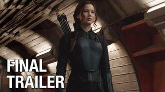 "The Hunger Games Mockingjay Part 1 (Jennifer Lawrence) Final Trailer – ""Burn"""