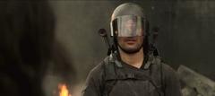Castor filmando a Katniss