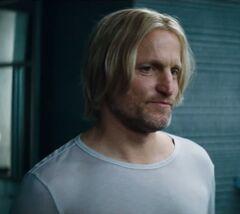 Haymitch despidiéndose