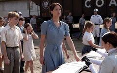 Katniss en la cosecha