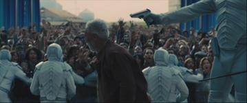 Anciano antes de ser ejecutado