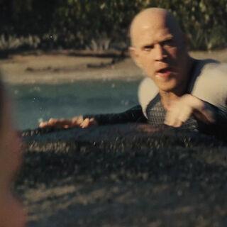Брут во время бойни у Рога.