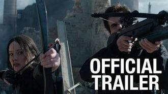 """The Hunger Games Mockingjay Part 1 – """"The Mockingjay Lives"""" Official Trailer"""