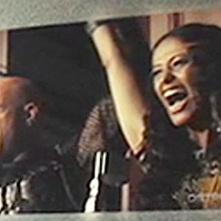 Брут и Энорабия во время Жатвы.