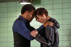 Cinna y Katniss