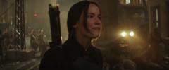 Katniss hablandole a los soldados de El Hueso