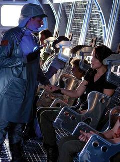 Katniss antes de la inyección del rastreador