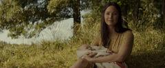 Katniss Everdeen con su hija