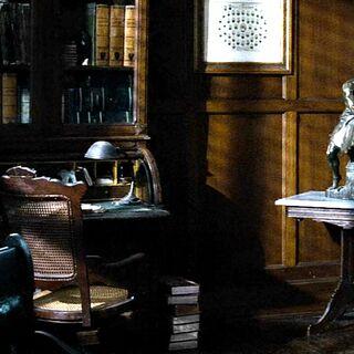 Комната, в которой Китнисс прощалась с своей семьёй.