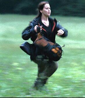 Китнисс бежит