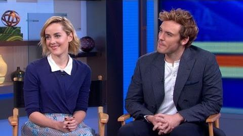 'Catching Fire' Stars Sam Claflin and Jena Malone