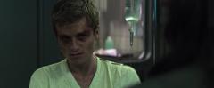 Peeta viendo a Katniss en el Hospital del 13