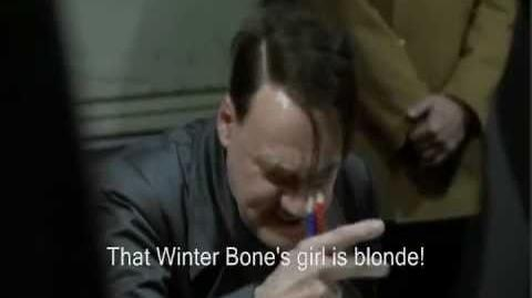 Hitler finds out about The Hunger Games movie cast