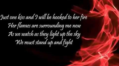 Arshad- Girl on Fire w lyrics on screen