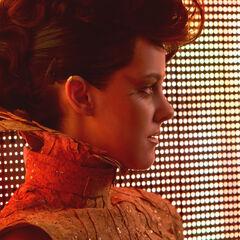 Johanna antes de su entrevista