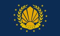 Bandera de la Republica de Panem
