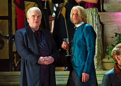 Haymitch y Plutarch