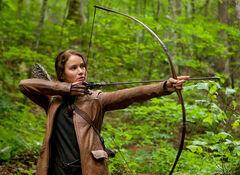 Katniss con el arco