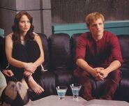 Katniss and Peeta awaiting