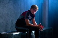 Peeta before Katniss' private session