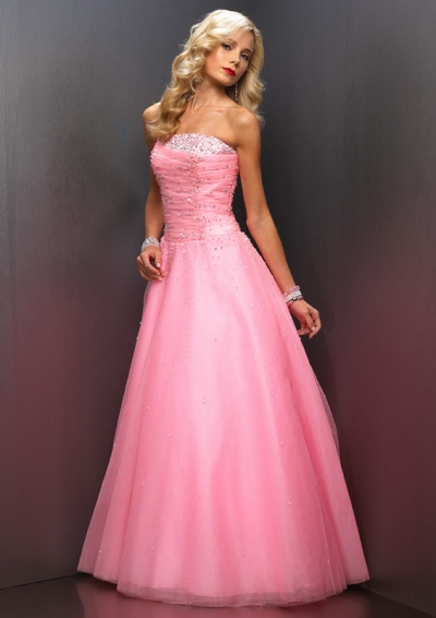 Image - Pink-prom-dress.jpeg | The Hunger Games Wiki | FANDOM ...