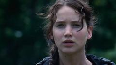 Katniss mirando la Cornucopia