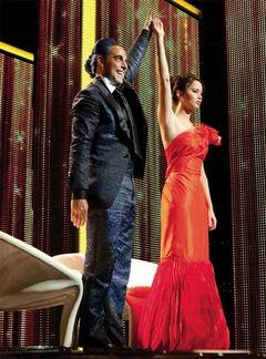 Caesar y Katniss