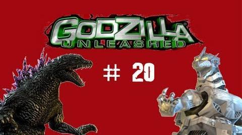 Godzilla Unleashed- Godzilla 54 vs Kiryu