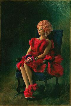 Effie Trinket Póster