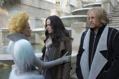 Katniss despidiendose de Effie