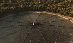 Арена Третьей квартальной бойни в виде циферблата часов