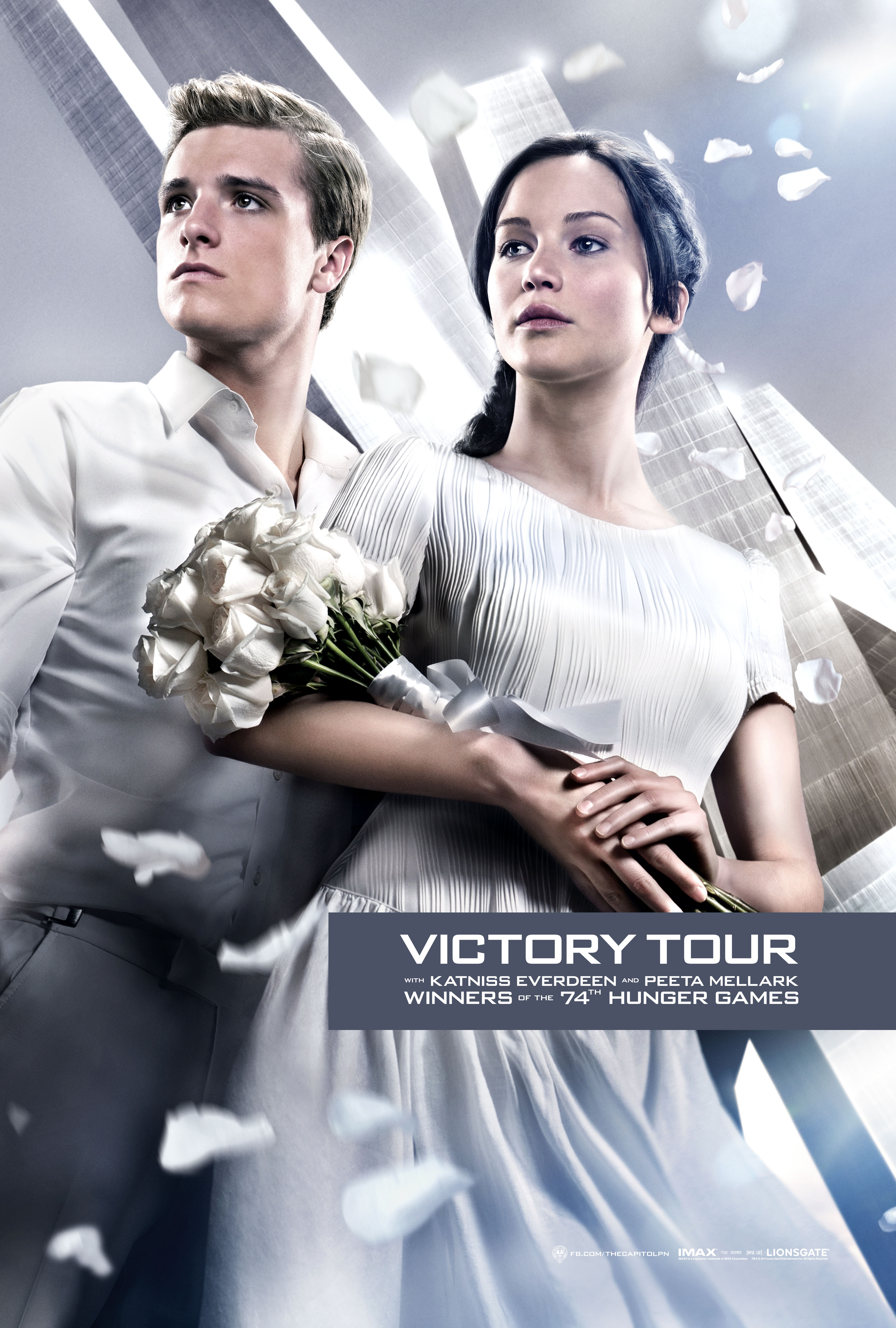 image - hunger-games-catching-fire-victory-tour-poster | the