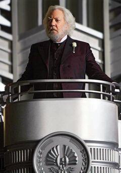 Presidente Coriolanus Snow