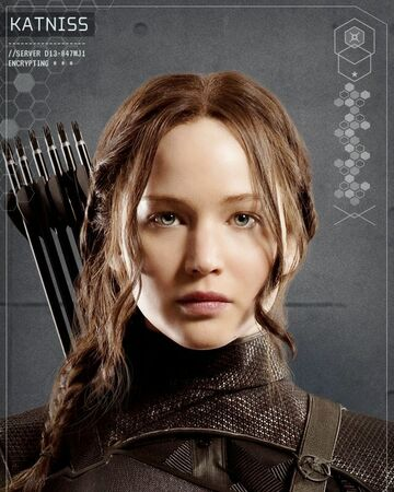 Katniss Everdeen The Hunger Games Wiki Fandom