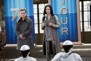 Katniss y Peeta 74° Victory Tour