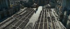 Habitantes de los distritos rumbo al capitolio