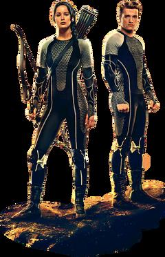 Katniss y Peeta Banner
