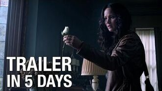 """The Hunger Games Mockingjay Part 1 - """"5 Days"""" Trailer Countdown"""