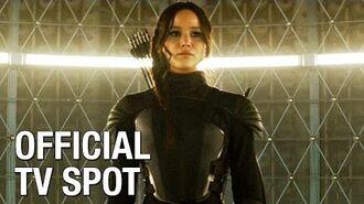 "The Hunger Games Mockingjay Part 1 (Jennifer Lawrence) Official TV Spot – ""No More Games"""