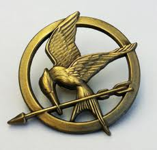 Image result for hunger games mockingjay pin