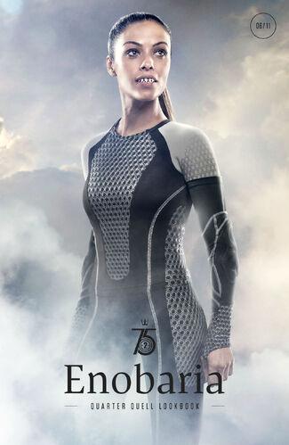 Enobaria Hunger Games Enobaria | The Hunger ...