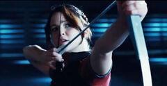 Katniss en su sesión privada