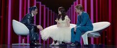 Entrevista de Katniss y Peeta luego de los 74° Juegos del Hambre