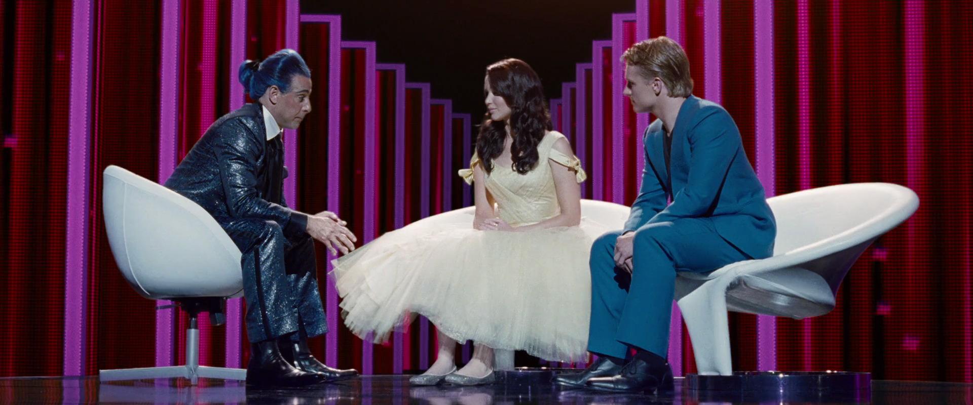 Imagen Entrevista De Katniss Y Peeta Luego De Los 74 Juegos Del
