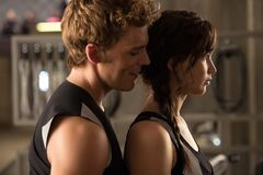 Finnick y Katniss